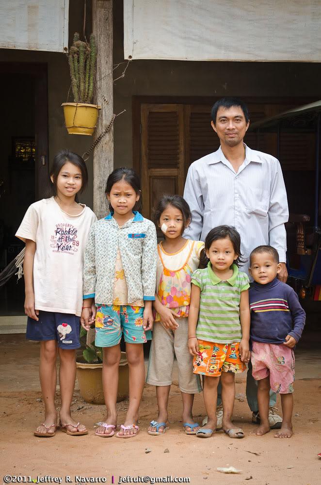 Mr. Pheng Khemara & Children
