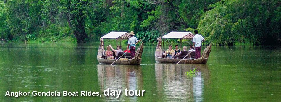 angkor gondola boat ride
