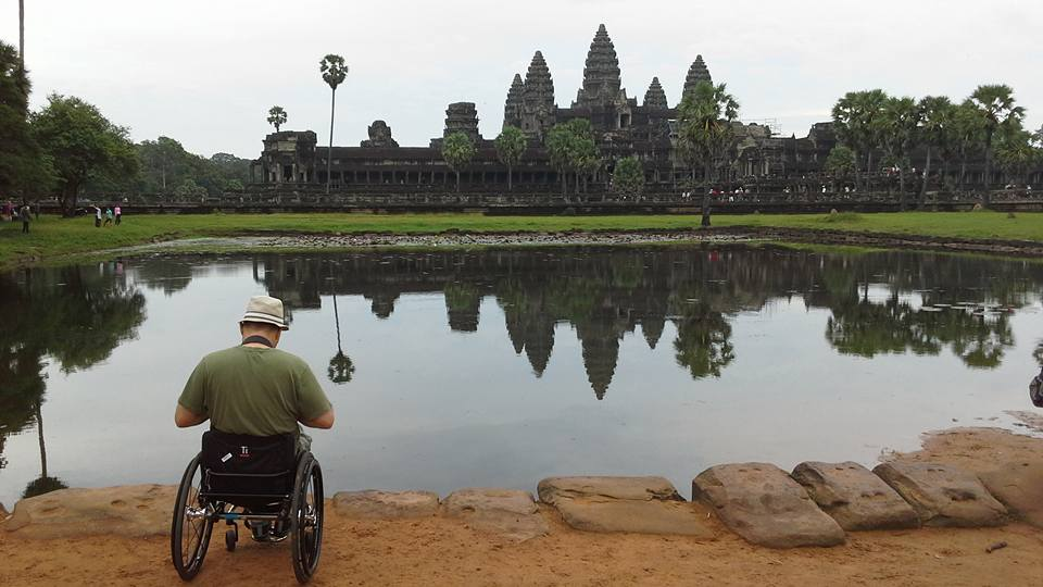 Angkor wheelchair travel