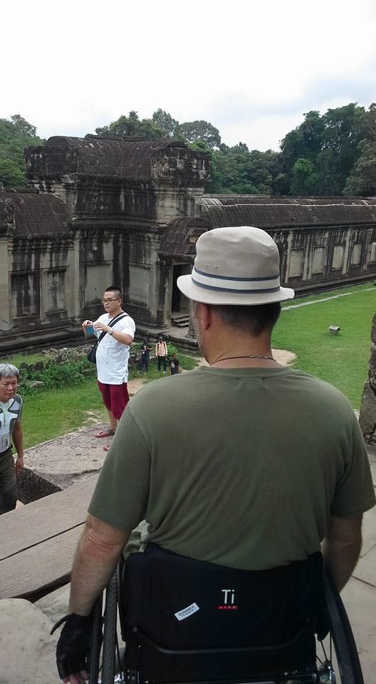 cambodia wheelchair tour