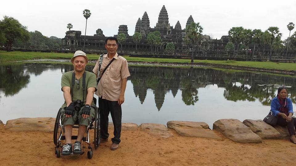 Siem Reap wheelchair travel