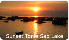 Tonle Sap Lake Sunset